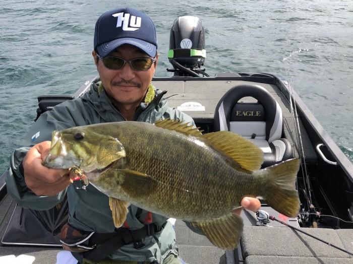 質問「桧原湖でハードルアーを巻いて釣りたいので教えて!」 の写真