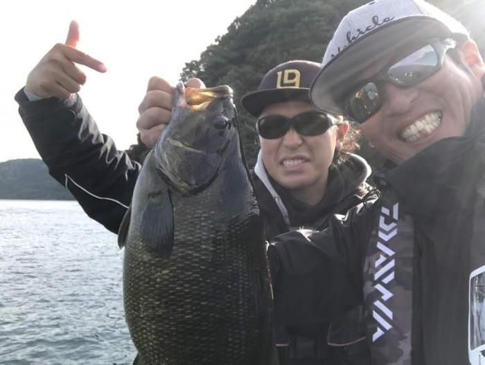 50オーバー2発。10月3日出張ガイド!! の写真